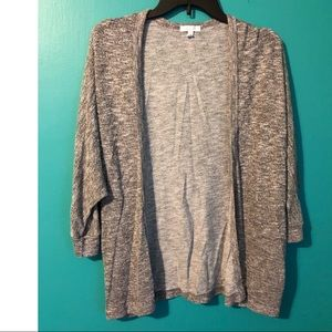 Delia's Grey Shrug Sweater